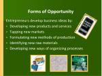 forms of opportunity
