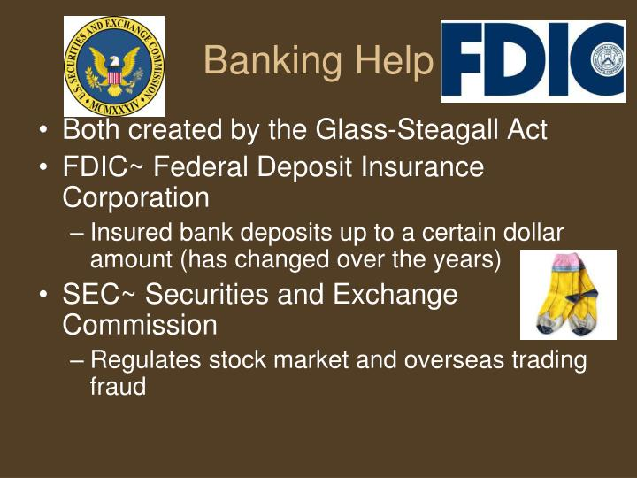 Banking Help