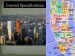 internal specializations