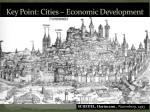 key point cities economic development