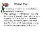 irs and taxes1