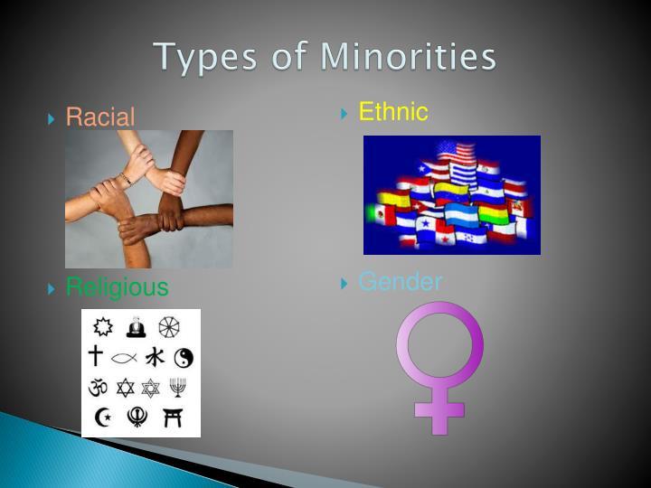 Types of minorities