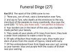 funeral dirge 27