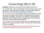 funeral dirge 28 11 19