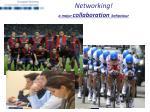 n etworking a major collaboration behaviour