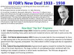 iii fdr s new deal 1933 1938