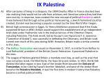 ix palestine