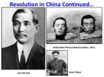 revolution in china continued1