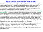 revolution in china continued2
