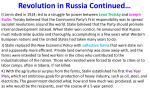 revolution in russia continued1