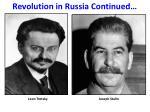 revolution in russia continued2