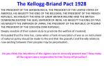 the kellogg briand pact 1928