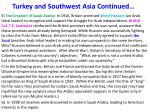 turkey and southwest asia continued1