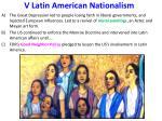 v latin american nationalism