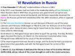 vi revolution in russia