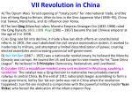 vii revolution in china