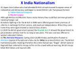 x india nationalism