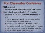 post observation conference1