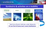 eurelectric activities on e mobility