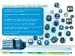 explosive mobile device growth