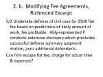 2 b modifying fee agreements richmond excerpt1
