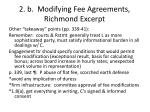 2 b modifying fee agreements richmond excerpt3
