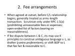 2 fee arrangements