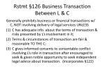 rstmt 126 business transaction between l c