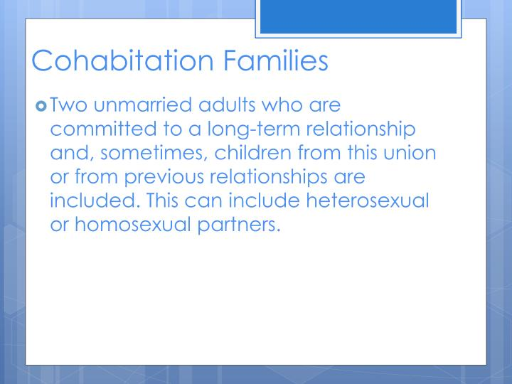 Cohabitation Families