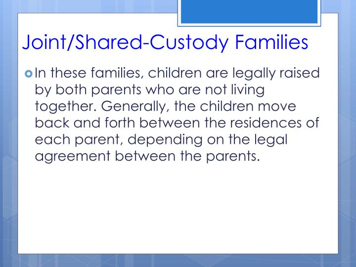 Joint/Shared-Custody