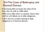 16 4 the costs of bankruptcy and financial distress
