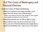 16 4 the costs of bankruptcy and financial distress3
