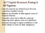 16 7 capital structure putting it all together