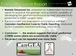 positive resource report
