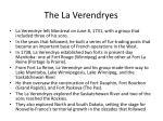 the la verendryes