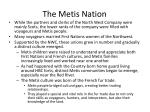 the metis nation