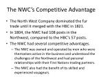 the nwc s competitive advantage