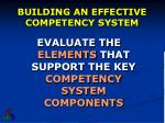 building an effective competency system1