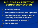 building an effective competency system3