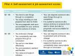 pillar 4 self assessment job assessment scores1