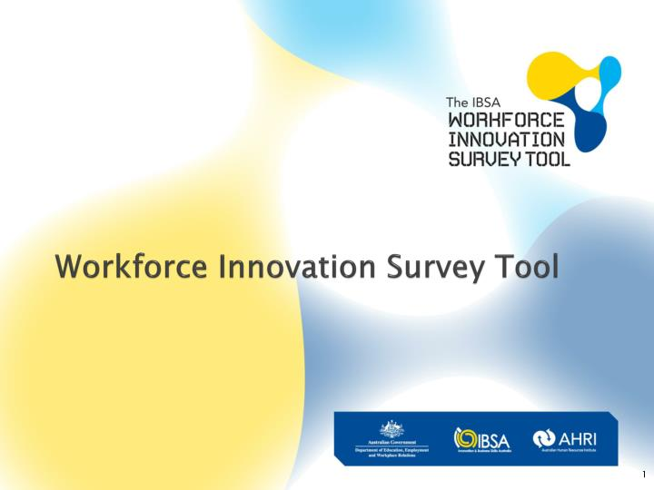 workforce innovation survey tool n.