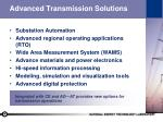 advanced transmission solutions