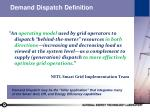demand dispatch definition
