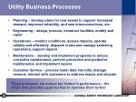utility business processes