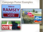 campaign poster examples
