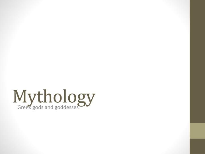 mythology n.