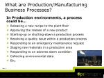 what are production manufacturing business processes1