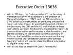 executive order 13636