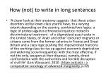 how not to write in long sentences