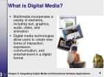 what is digital media